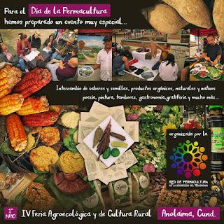 afiche promocional red de permacultores del tequendama