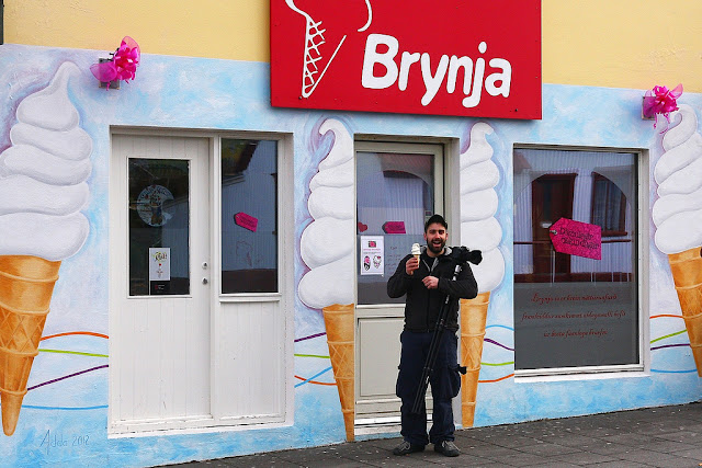 Iceland: The country of ice cream