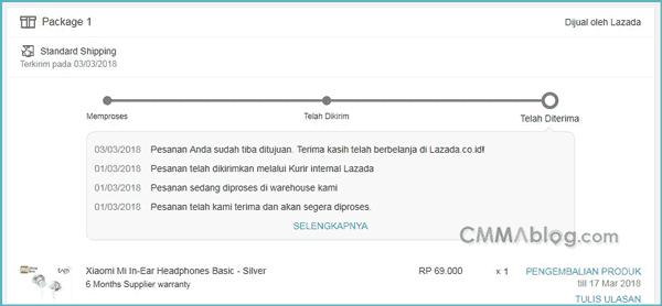 Jika kau mau tau cara belanja di Lazada bayar ditempat lewat PC atau laptop Pengalaman: Cara Belanja di Lazada Bayar ditempat lewat PC