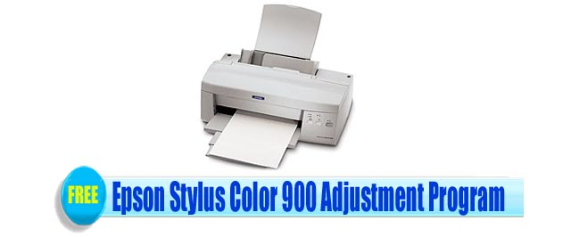 Epson Stylus Color 900 Adjustment Program