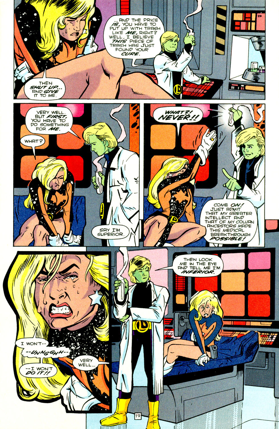 Legion of Super-Heroes (1989) 70 Page 20
