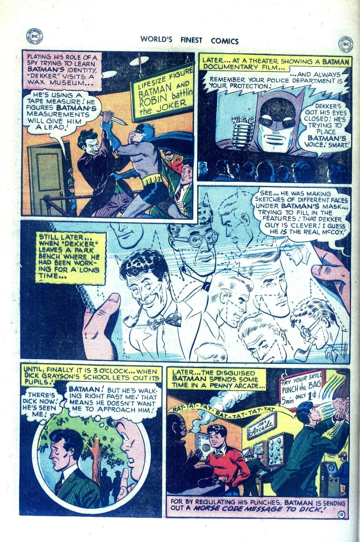 Read online World's Finest Comics comic -  Issue #43 - 70