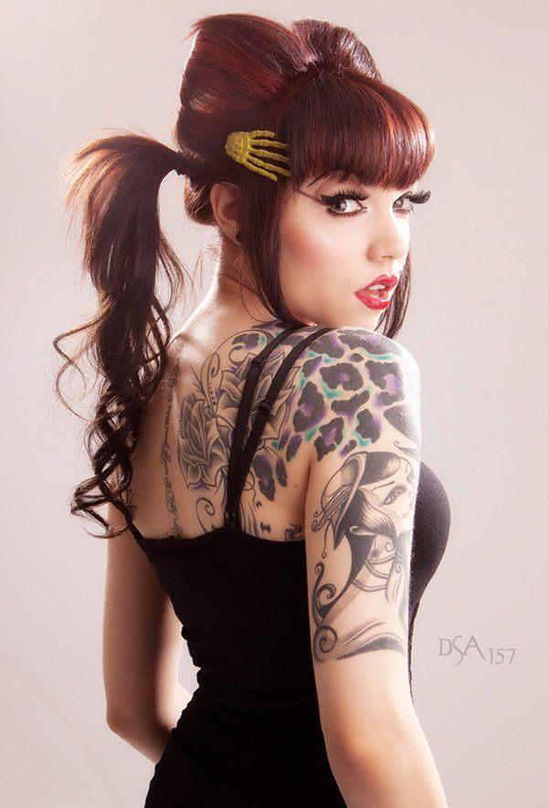 Tatuajes de manchas de leopardo para chicas belagoria for Sexy naked tattoo girls