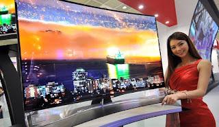 Keunggulan dan Kelemahan Curved TV