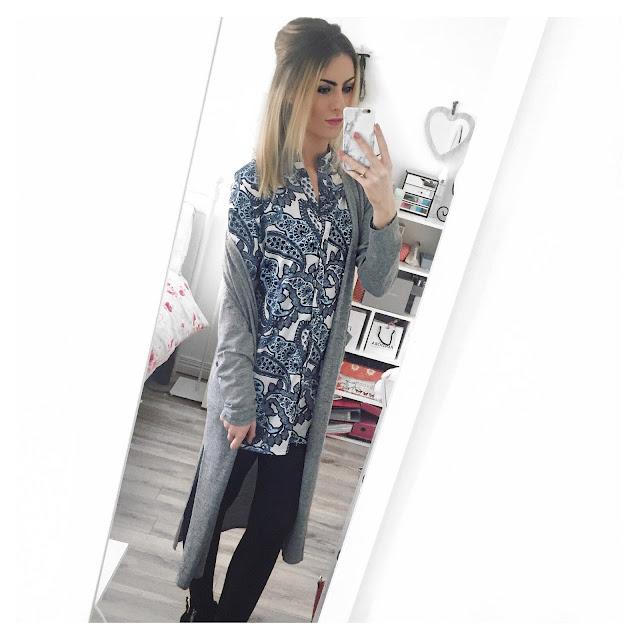 missguided shirt dress