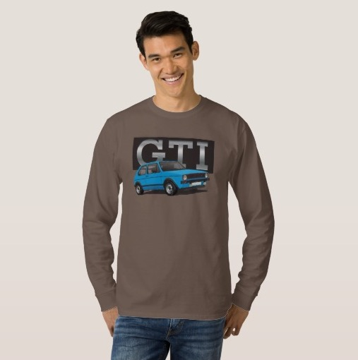 VW Golf GTI MK1 long sleeve shirt