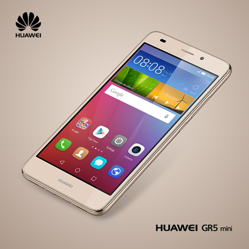 Huawei GR5 Mini Revealed, Boast A 5.2 Inch FHD Screen And Kirin 650 Chip With i5 Co-Processor!