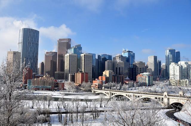 Inverno em Calgary