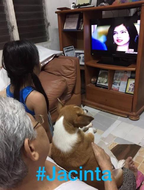 VIRAL: A Pet Dog Can't Stop Watching Jacintha Magsaysay In La Luna Sangre!