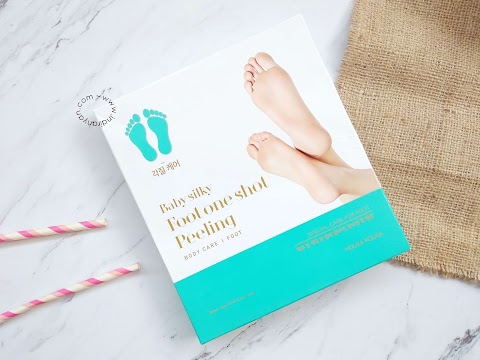 [REVIEW] Holika Holika - Foot One Shot Peeling