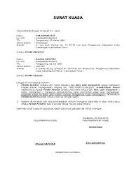 surat kuasa ahli waris - wood scribd indo