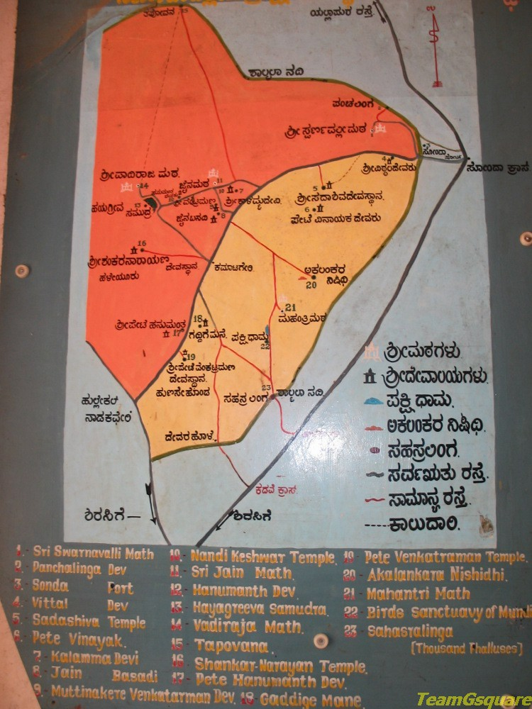 Places to visit in Sonda, Sirsi
