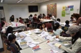 Korean Cultural Office - Drawing class
