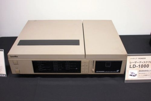 PIONEER laser disc player LD - 1000 (1981)