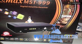 طريقة شحن فلاشة رسيفر qmax mst 999 h4plus بدون نزع الفلاشه من الرسيفر