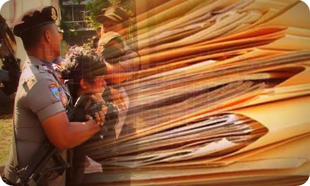 Polisi Tangkap Petugas Pencuri Berkas Gugatan Pilkada Dogiyai