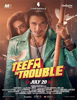 Poster de Teefa in Trouble