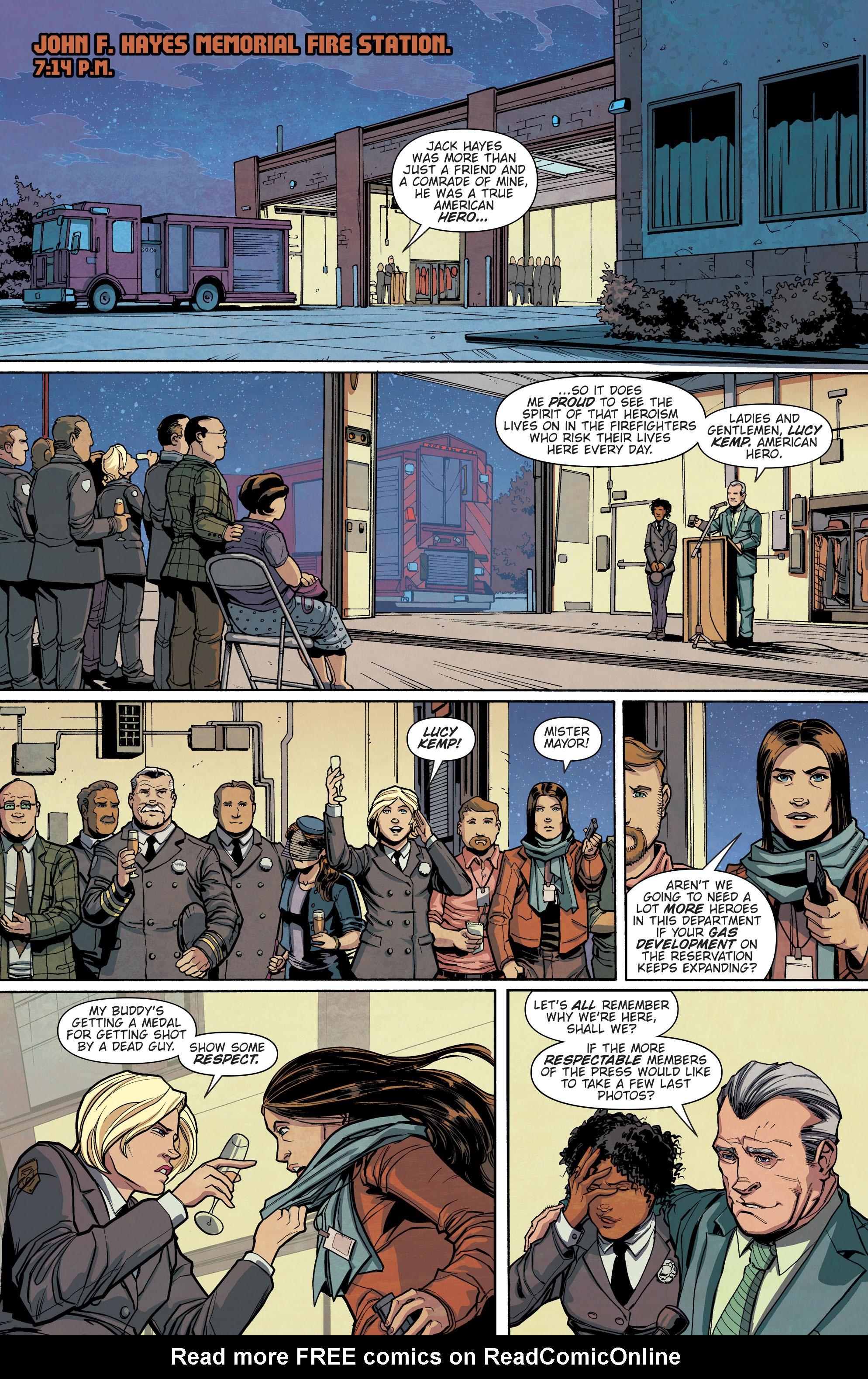 Read online Slash & Burn comic -  Issue #3 - 14