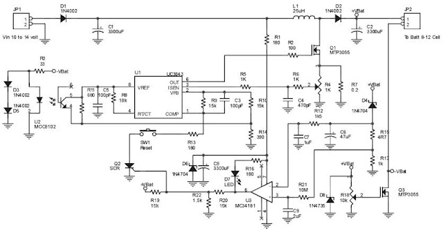Ultra Fast Battery charger circuit