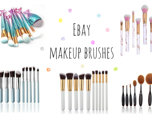 Affordable makeup brushes from ebay