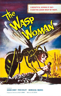 Póster película La mujer avispa - 1959