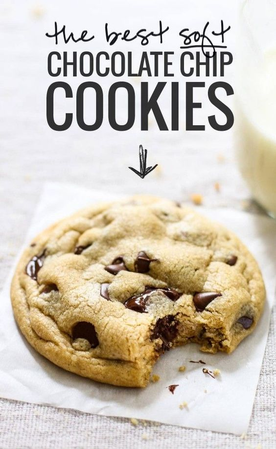 The Best Soft Chocolate Chip Cookies #soft #chocolate #chip #chocolatechip #cookies #cookierecipes