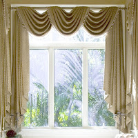 Draped Curtains For Country Environments