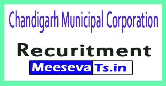 Chandigarh Municipal Corporation Recruitment Notification 2017