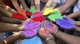 End Holi celebrations with Rangpanchami.