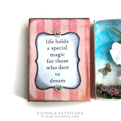 Paper fairy matchbox - Nichola Battilana