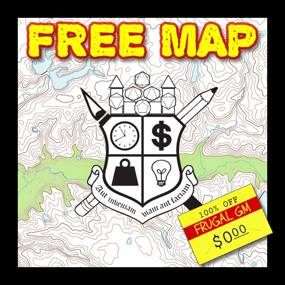 Free Map 040: Some Underground  Beaches