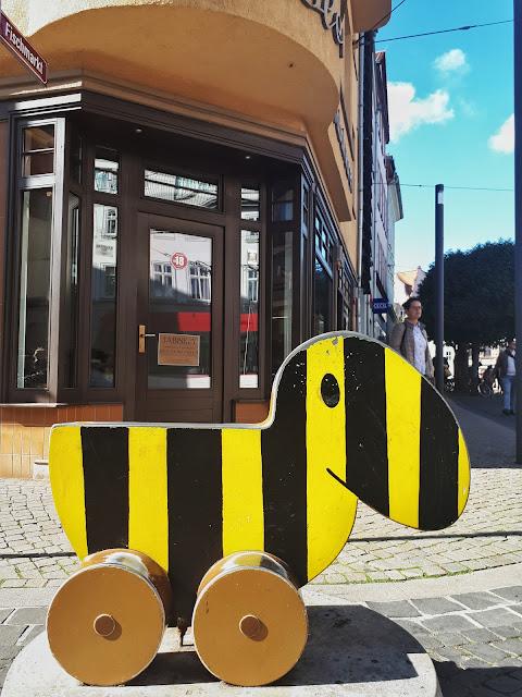 Die Tigerente aka Tiger Duck in Erfurt