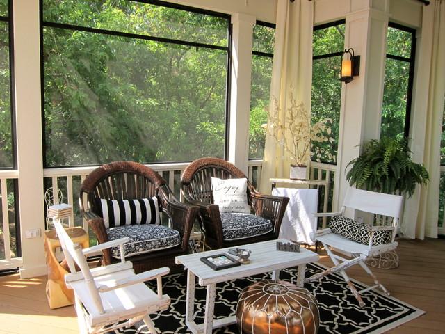 Porches cerrados decora y divi rtete - Como decorar un porche abierto ...