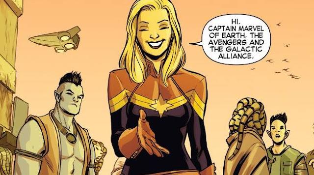 Asal-Usul dan Kekuatan Captain Marvel (Carol Danvers) dari Marvel Comics