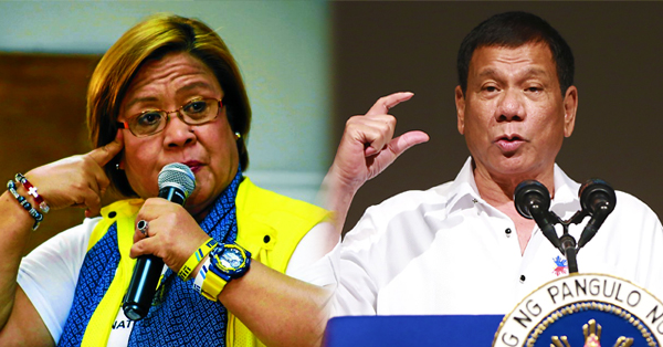 Delima to Duterte: Isang Matanda na May 'EQ' ng Isang 6 na Taong Gulang na Bata!