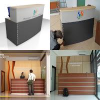 Contoh Desain Meja CS (Customer Service) Semarang - Furniture Semarang