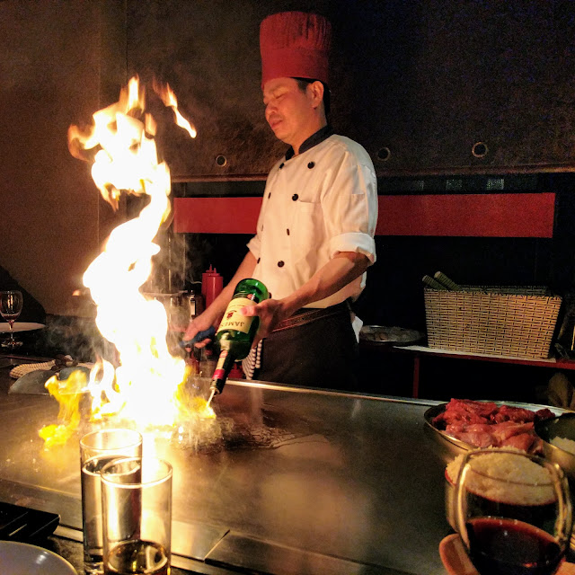 Dublin Day Out: Teppanyaki dinner at Chai-yo