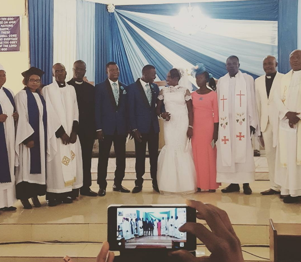 jethro oyekanmi adekola white wedding