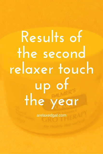 Get the lowdown on the results of my second relaxer touch up in 2014. | arelaxedgal.com