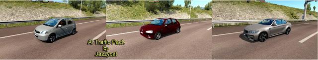 ets 2 ai traffic pack v9.6 screenshots 1, BMW F87, Peugeot 106, Toyota Yaris '99