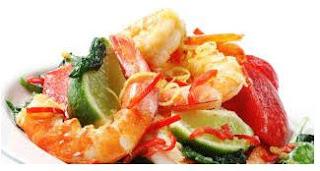 20 Jenis Makanan yang harus dihindari pengidap kolesterol berlebih udang