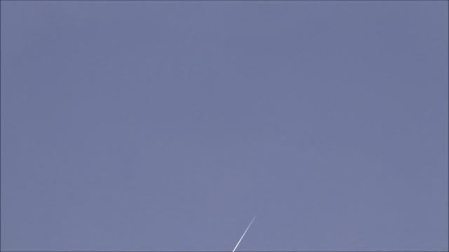 הבזק אירידיום דקות לאחר השקיעה 3/2/2019