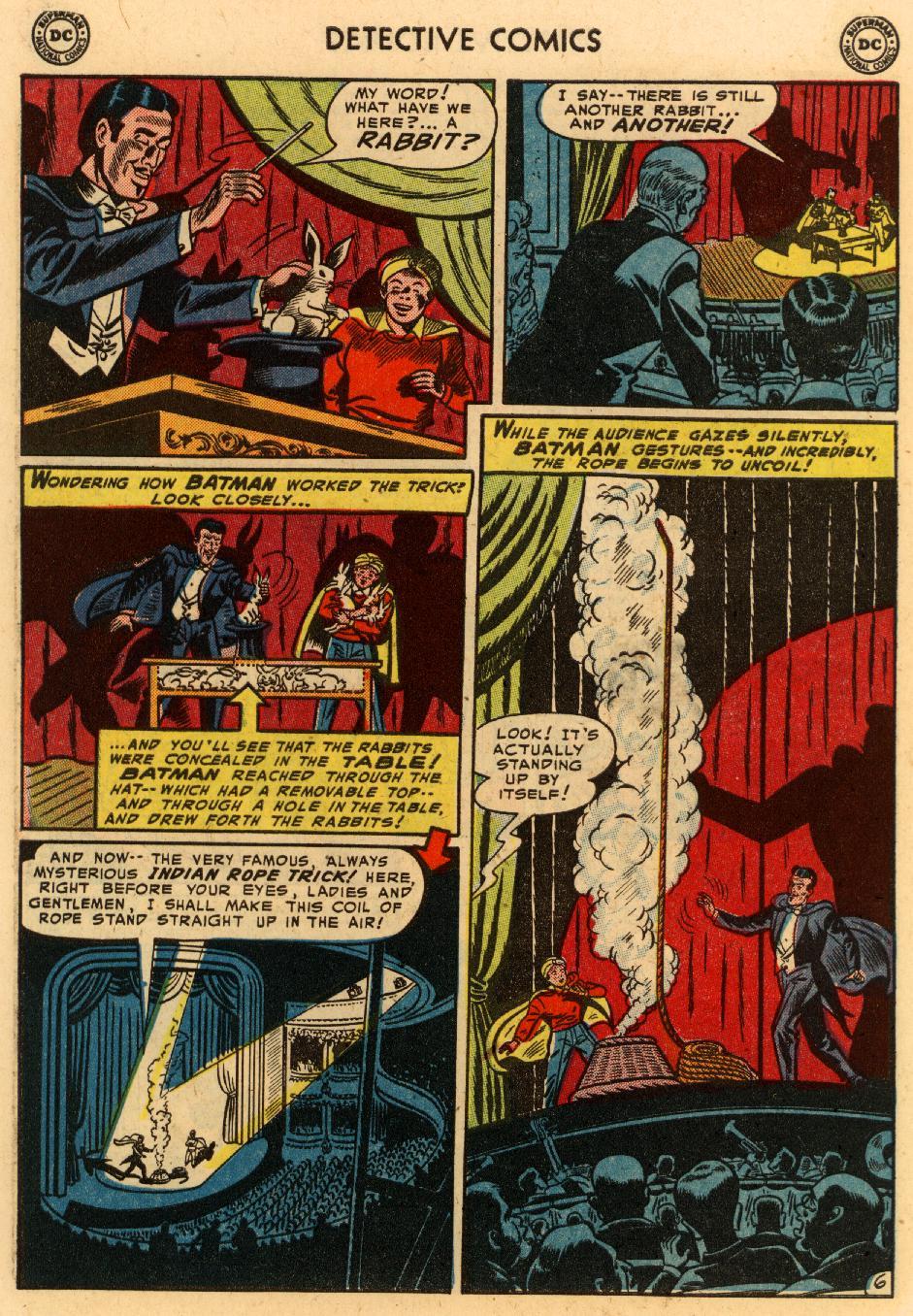Read online Detective Comics (1937) comic -  Issue #207 - 7