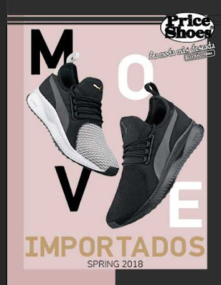 Catalogo Price Shoes importados 2018 Spring Completo
