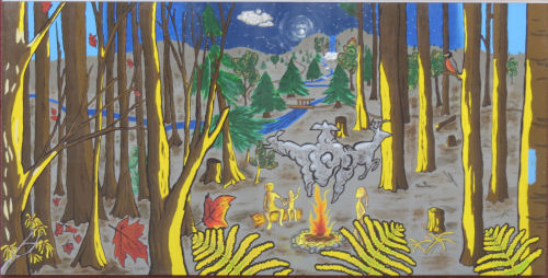 North Country Trail mural
