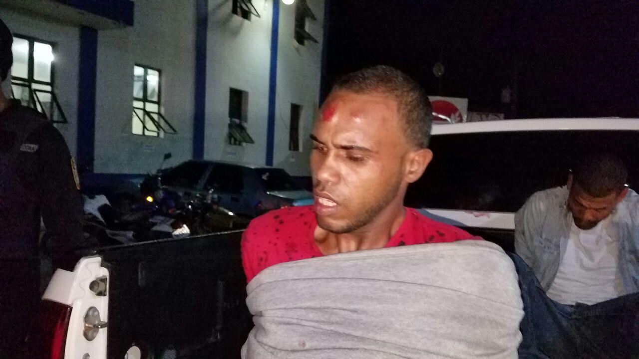 Hieren uno de dos Presuntos atracadores en intento de atraco a un agente de la Policía Nacional.
