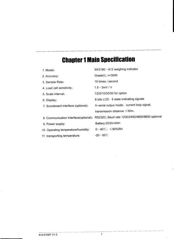 TIMBANGAN ELEKTRONIK / ELECTRONIC SCALE: BUKU MANUAL