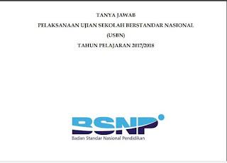 Buku Tanya Jawab USBN 2017/2018