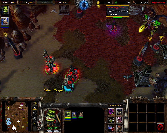 By Demons Be Driven Mission 27 | Grom Entrapment Screenshot | Warcraft 3: Reign of Chaos