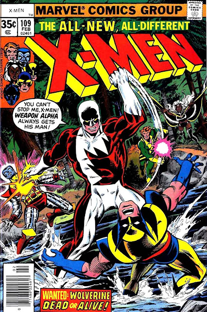 X-men v1 #109 marvel comic book cover art by John Byrne